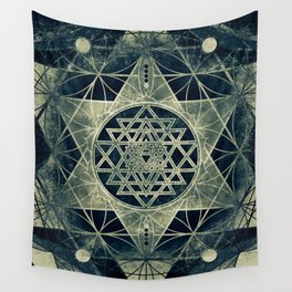 Sacred Geometry for your daily life- SRI YANTRA Wall Tapestry
