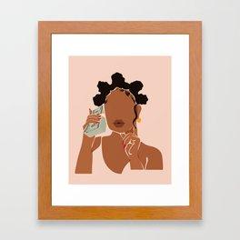 Mo' Money, No Problems Framed Art Print