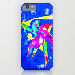 Abstract Colorful Mantis Shrimp iPhone Case