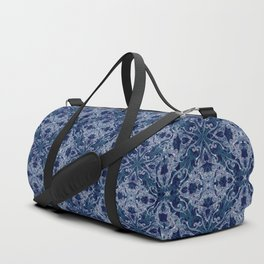 Victorian Era royal & sky blue Duffle Bag