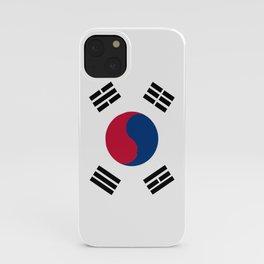 South Korean Flag iPhone Case