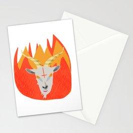 Satan Goat Stationery Cards