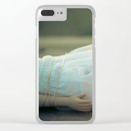 Alice's Escapades ~ Damsel in Distress Clear iPhone Case