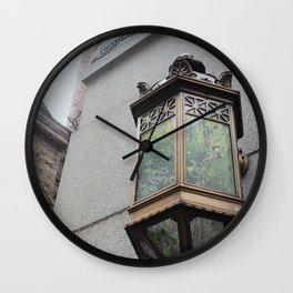Allegheny Courthouse + Field Wall Clock
