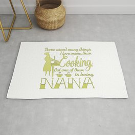 Cooking Nana Rug