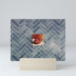Bricks Mini Art Print
