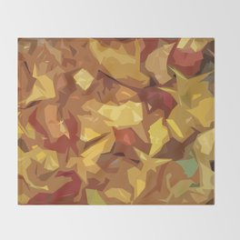 Autumn Fall in Spring Throw Blanket