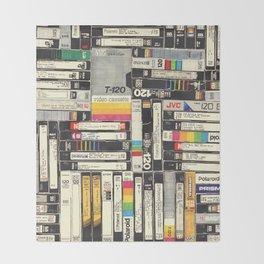 VHS I Throw Blanket