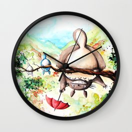 """Turn round"" Wall Clock"