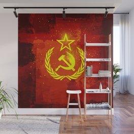 Paint Communist Hammer & Sickle Wall Mural