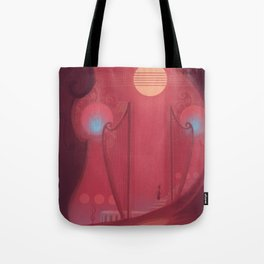 Sense the sounds Tote Bag