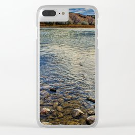 The Waters Edge Clear iPhone Case