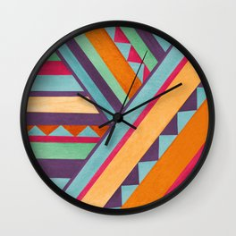 Blazin' Southwest Wall Clock