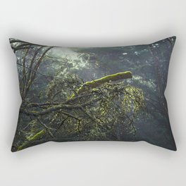 Into the green woods Rectangular Pillow