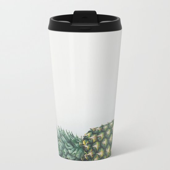 Fallen Pineapple Metal Travel Mug