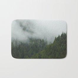 Tree Fog Bath Mat
