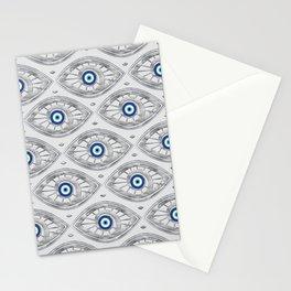 Greek Mati Mataki - Matiasma Evil Eye Pattern #3 Stationery Cards