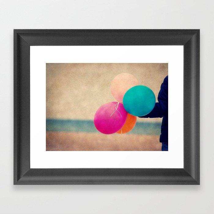 coloré Framed Art Print