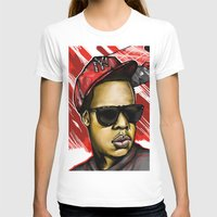 jay z T-shirts featuring Jay Z by C.Love Designs