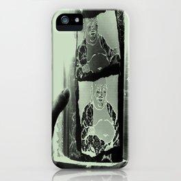 Tickling Buddha iPhone Case