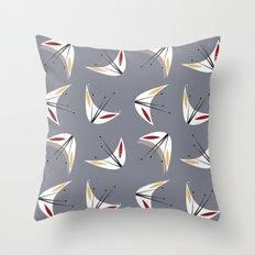 MCM Blossom Throw Pillow