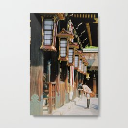 Kyoto-shi  Metal Print