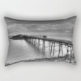 Birnbeck Pier, Weston-super-Mare Rectangular Pillow