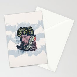 Van Gogh Typography Drawing Stationery Cards