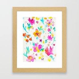 A Little Tropical Framed Art Print