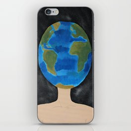 Thinking Globally phone case  iPhone Skin