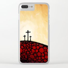 Forgiven - Christian Art By Sharon Cummings Clear iPhone Case