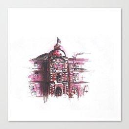 Le Palais du Luxembourg Canvas Print