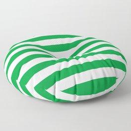 Saudi Arabia Norfolk Island flag stripes Floor Pillow