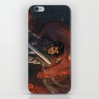 dungeons and dragons iPhone & iPod Skins featuring Dragons and Direction: Zayn by invisibleinnocence