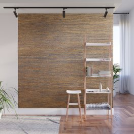 Rustic brown gold wood texture Wall Mural