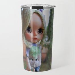 Miau - Blythe doll #17 Travel Mug