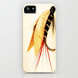 The Blae and Black iPhone Case