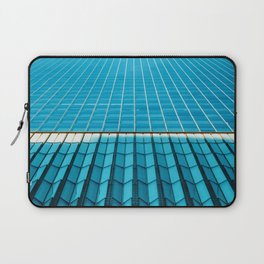 The Blue Architecture (Color) Laptop Sleeve