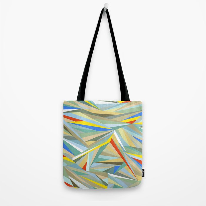 Sliced Fragments Tote Bag