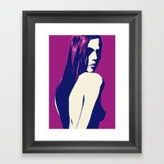 portrait 4 Framed Art Print