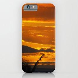 Blazing Sunset Over Maui, Hawaii iPhone Case