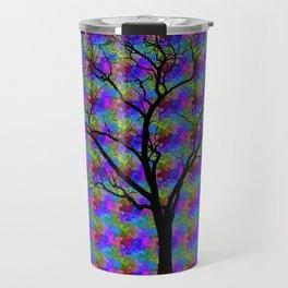 Psychedelic Mystery Tree Travel Mug