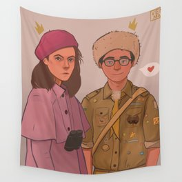Sam and Suzy (Moonrise Kingdom by Wes Anderson) Wall Tapestry