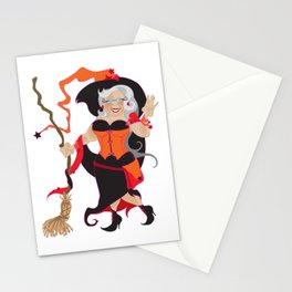 Granny Hex (Orange) Stationery Cards