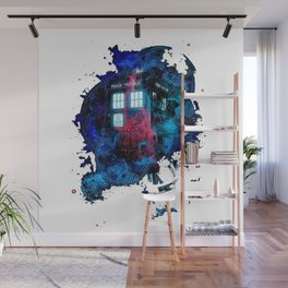 Time And Space Mist Tardis Doctor Who Wall Mural