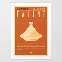 MADE IN MOROCCO #03-THE COOKING POT Art Print
