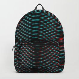 Echoes I - Abstract Glitch Backpack