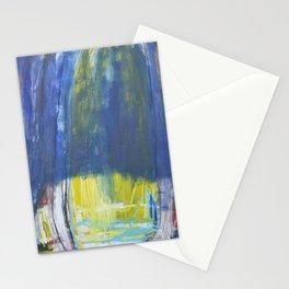 Beyond blue Stationery Cards