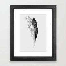 Inconspicuousness (Black & White)  Framed Art Print