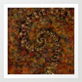 From Infinity - Autumn Art Print